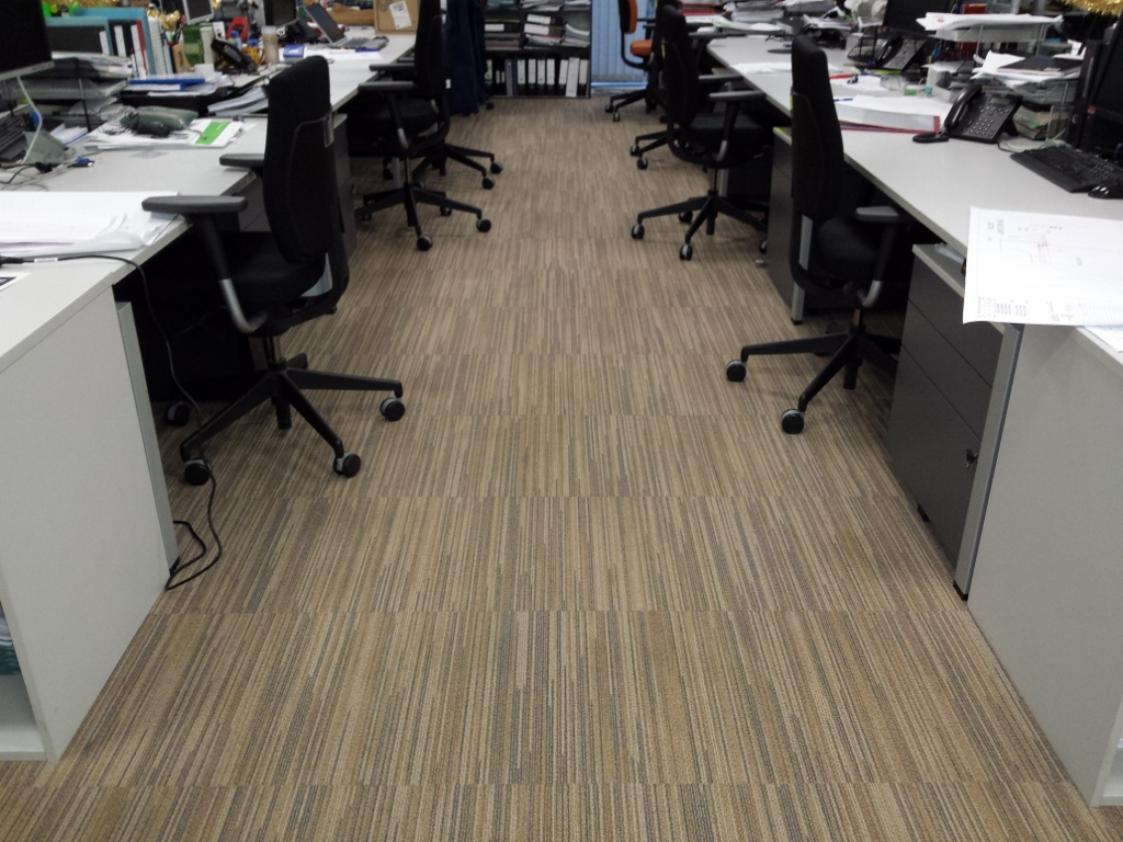 Carpet Marks From Desk Chairs