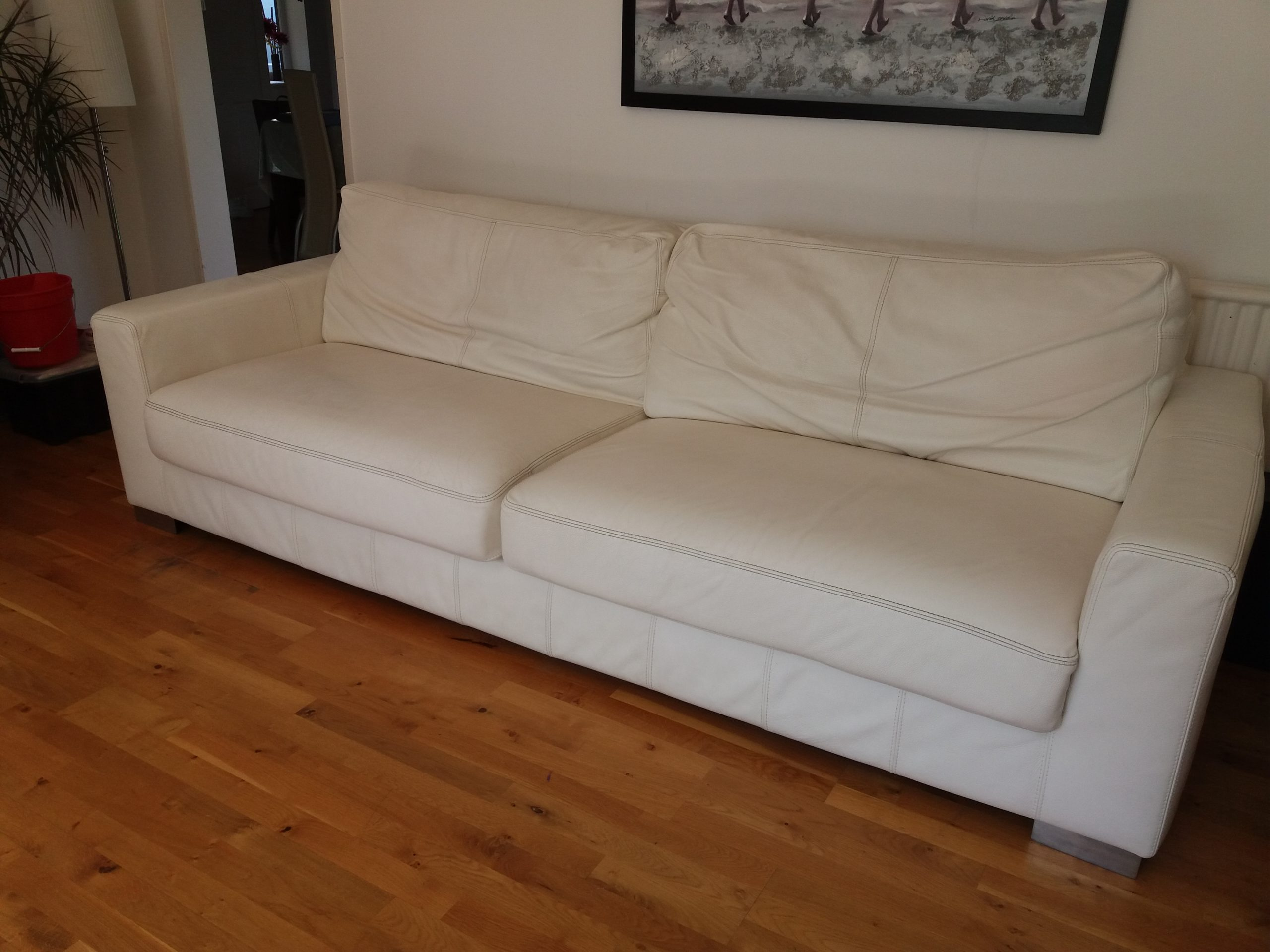 leather suite cleaning oxfordshire